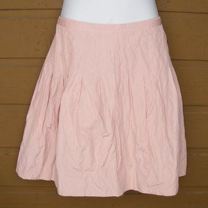 new CABI Skirt, 8, Midi, Back zip, Frosting Pink